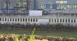 YDG'den Mehmet Yeşilçalı İçin Pankart Asma Eylemleri