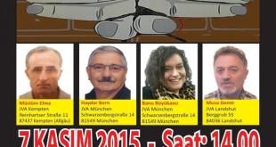 Tutsak ATİK'li devrimcilerle Hapishane önlerinde dayanışma mitingleri
